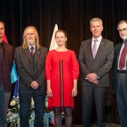 ceremonia wręczenia Nagrody Konsula Honorowego Wielkiego Księstwa Luksemburga