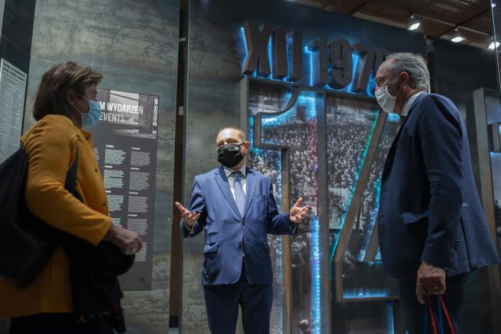 wizyta w Europejskim Centrum Solidarności